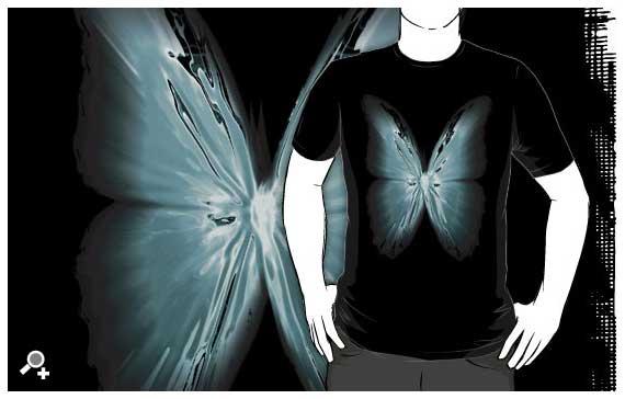 DLKeur butterfly t-shirt art