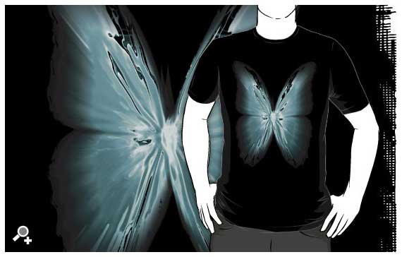 DLKeur butterfly t-shirt art